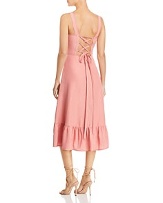 Rebecca Taylor - Lace-Up Midi Dress